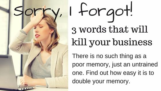 Sorry, I forgot