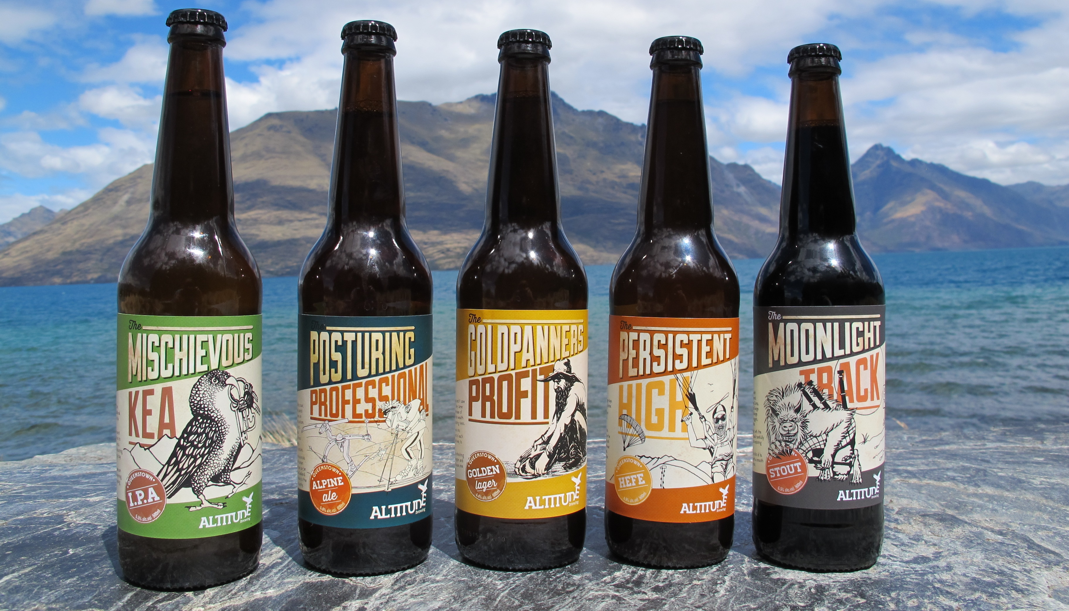 Discover Queenstown's best Beer