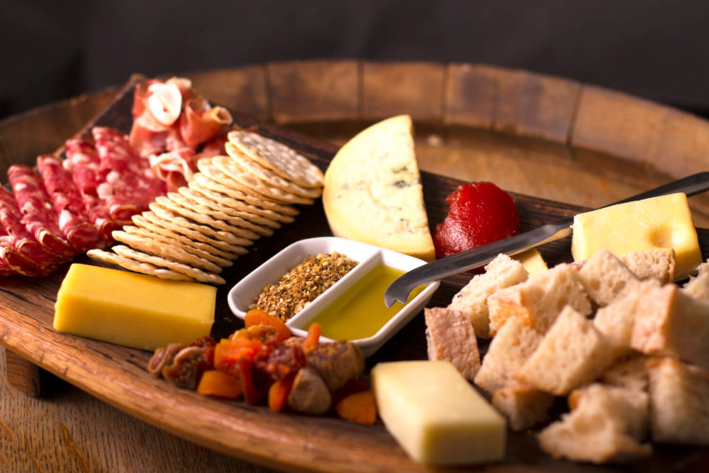 The Winery Queenstown, New Zealand Cheese board